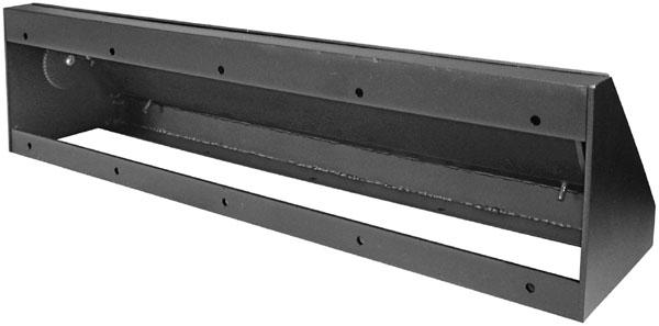 Short Metal Decorative Baseboard Heat Registers