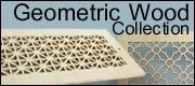 wood geometric laser cut heat registers