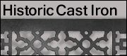 historic cast iron heat registers