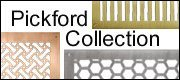 Pickford collection of brass and copper grilles