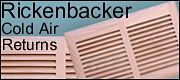 rickenbacker slatted cold air return