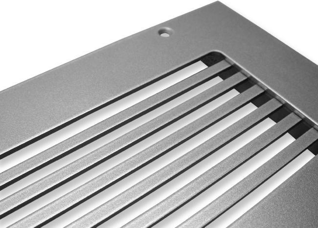 Industrial Warehouse Style Heat Registers
