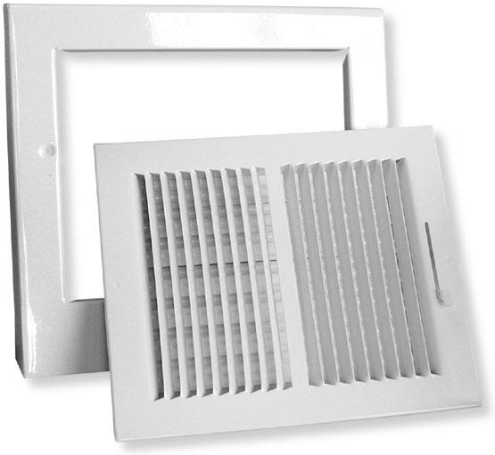 Detail Pictures Of University Metal Heat Register